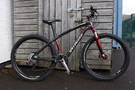 Specialized Stumpjumper Expert carbon hardtail bike