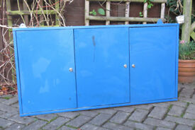 Steel wall mounted tool cabinet