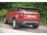 Land Rover Range Rover Evoque TD4 SE TECH (red) 2016-03-26