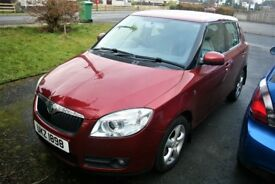 2007 Skoda Fabia 2, 1.6 Petrol, 79,000 miles, Full MOT, 1 Owner, Full Service History, low insurance