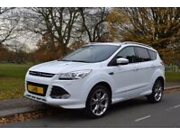 LHD 2014 FORD KUGA TITANIUM X SPORT 2.0TDCI 4x4 AUTOMATIC LEFT HAND DRIVE IMMACULATE , IN LONDON