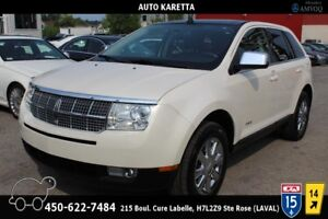 2007 Lincoln MKX AWD, TOIT PANORAMIC, CUIR, A/C, CLEAN CARPROOF