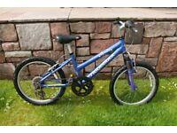 Ridgeback Harmony 20 Girls Bike - 20 Inch Wheels - Front Suspension (6-10yrs) RRP £269