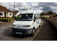 Campervan Fiat Ducato LWB camper project for next mot fully fitted inside. see photo's