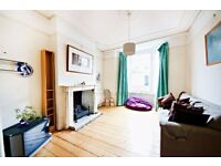 large 4 bed house over 3 floors with 3 bathrooms and private garden