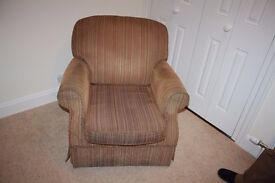 1 Parker Knoll Arm chair with foot rest
