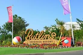 Caravans to rent on Butlins Coastfields Fantasy Island The Chase and the beautiful Tattershall lakes