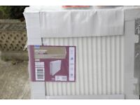Double Central Heating Radiators and Valves from Wickes