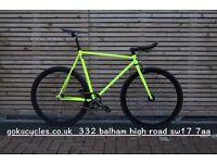 SALE ! GOKU cycles Steel Frame Single speed road bike TRACK bike fixed gear bike racing bike Z