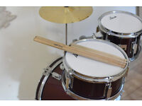 Small Drum set. Like NEW.