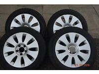 Alloy wheels for Audi 205/55 R16 £150