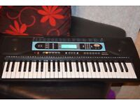PM54KSB KEYBOARD 61KEYS RECORD AND PLAY/ADAPTER/CAN BESEEN WORKING