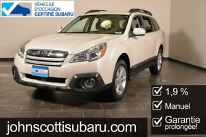 2014 Subaru Outback 2.5i Convenience MANUEL 1.9% MANUAL