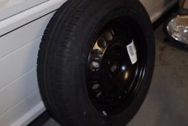 BRAND NEW Vauxhall Corsa MK4 D Spare Wheel & A £100 Continental Tyre Conti Eco Contact 3 185 55 R15