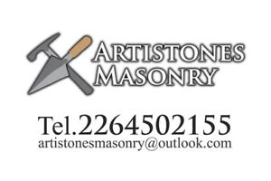 Mason for your small to large jobs.