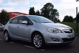 2011 Vauxhall Astra 1.6 i VVT 16v Exclusiv 5dr MANUAL + 3 MONTH WARRANTY + LOW MILEAGE + PX WELCOME