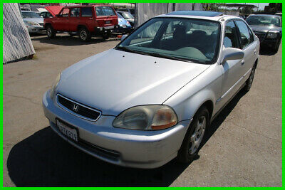 1998 Honda Civic EX 1998 Honda Civic EX Sedan Automatic 4 Cylinder NO RESERVE