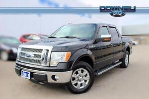 2011 Ford F-150 LARIAT LEATHER HEATED SEATS/BLUETOOTH DUAL ZONE