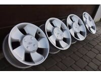"15"" PUMA TURBINES alloys 4x108 ford fiesta KA focus SIERRA escort courier xr3i"