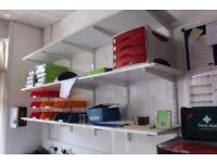 White wall shelves - £5 each Winchester City Centre