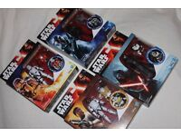"4 x Star Wars The Force Awakens 3.75"" ARMOUR UP FIGURES inc FINN FN-2187/KYLO REN/FLAMETROOPER -NEW"