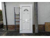 A Exterior UPVC door and frame
