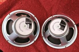 Pair of Celestion G12T-75 loudspeakers