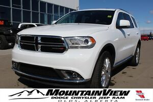 2016 Dodge Durango Limited DUAL DVD!