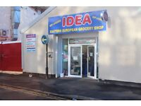 Convenience store for sale. Full of potential. City centre location.Business for sale!Shop for sale!