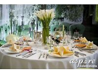 ***WEDDING & EVENT PLANNING -VENUE DECORATION –CENTREPIECE HIRE Tel:02084234330 or 07904938852 ***