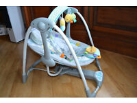 Bright Starts Taggies Leafy Baby Swing