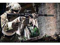 Airsoft photography and graphic art