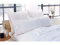 BRAND NEW - Sheridan pure WHITE LINEN bedding - worth £104