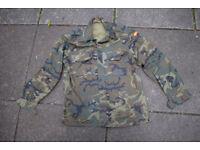 Spanish Army Issue - Woodland Camo Shirt (size XL)