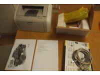 HP laserjer 1020 printer laser plus 2 new toner cartridge.