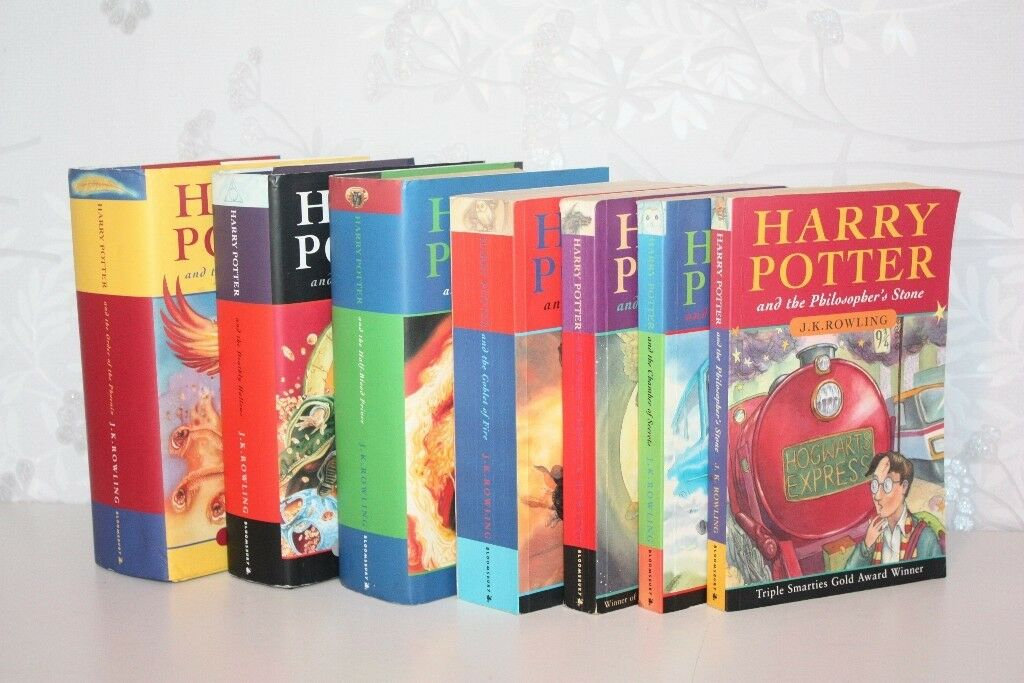 Complete Set Harry Potter Books Collection 1 -