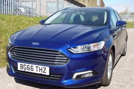 2016 FORD MONDEO ESTATE (1.5 DSL ECONETIC) AS NEW ONLY IK MLS!! £0TAX). BARGAIN!! PLS READ!!