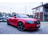 Audi TT Convertible 1.8 T, stunning car-upgraded Alloys, 4 Brand New Tyres, new MOT & Cambelt done!