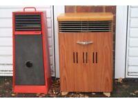 a pair of vintage ALLADIN paraffin/kerosene heater
