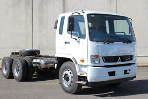 Fuso Fighter 2427 SWB 6x4 Manual Cab chassis Rocklea Brisbane South West Preview