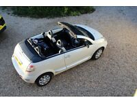 only 44k miles (07) Citroen C3 Pluriel convertible, Latte edition, full leather interior