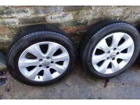 Genuine Vauxhall 16 inch Alloy Wheels