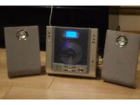 PHILIPS DAB RADIO/AUXIN PLAY IPODPHONE/DAB ANTENNA CAN SEE WORKING