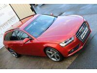 LATE 2014 AUDI A4 2.0 AVANT TDI SE TECHNIK 134 BHP *BLACK EDITION SPEC* ( WARRANTY & FINANCE)