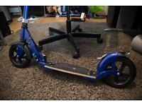 Micro Flex Deluxe Scooter - Blue (Adult size)