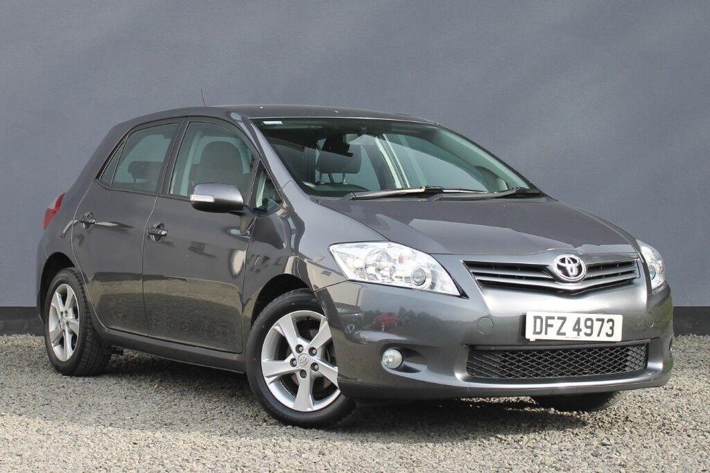 2010 Toyota Auris 133 Vvt I Tr 5dr Petrol Manual Facelift