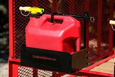 Equipment Defender No-spill 5 Gallon Gas Can Rack