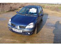 RENAULT CLIO 1.4 16V 2002