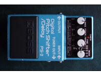 Boss PS2 . Pitch Shifter / Delay. Made in Japan.