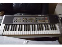 HOHNER KEYBOARD WITH CARRY CASE/HOHNER AMP CAN BE SEEN WORKING